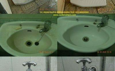 Cuci kamar mandi   Pembersih kamar mandi di Pondok Indah
