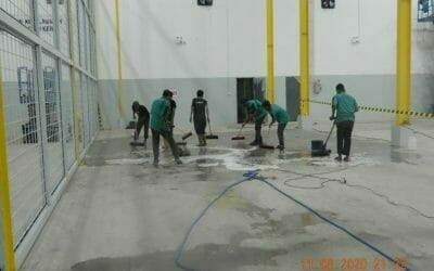 Cuci lantai gudang   Cuci gudang   Jasa general cleaning