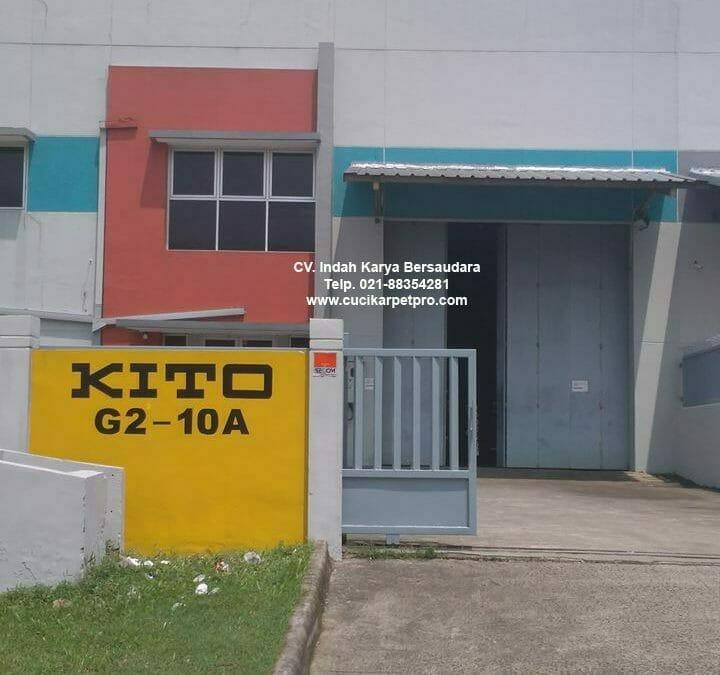 Cuci Gudang | Cuci Lantai Gudang | General Cleaning PT Kito Indonesia