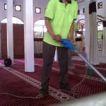 cuci karpet masjid baiturrahman