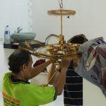 cuci lampu kristal bapak musa oleh Jasa Cuci Lampu Kristal gbr-12