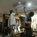 cuci lampu kristal bapak sonny oleh Jasa Cuci Lampu Kristal gbr-08
