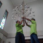 cuci lampu kristal ibu dewi oleh Jasa Cuci Lampu Kristal gbr-12