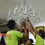 cuci lampu kristal ibu novi oleh Jasa Cuci Lampu Kristal gambar-11