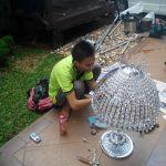 cuci lampu kristal ibu santi oleh Jasa Cuci Lampu Kristal gbr-04