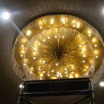 cuci lampu kristal birawa ballroom oleh Jasa Cuci Lampu Kristal gbr-03