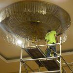 cuci lampu kristal birawa ballroom oleh Jasa Cuci Lampu Kristal gbr-22