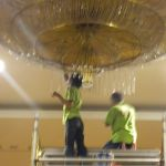 cuci lampu kristal birawa ballroom oleh Jasa Cuci Lampu Kristal gbr-39