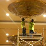 cuci lampu kristal birawa ballroom oleh Jasa Cuci Lampu Kristal gbr-41