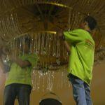cuci lampu kristal birawa ballroom oleh Jasa Cuci Lampu Kristal gbr-44