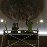 cuci lampu kristal birawa ballroom oleh Jasa Cuci Lampu Kristal gbr-54