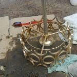 cuci lampu kristal ibu rika oleh Jasa Cuci Lampu Kristal gbr-09