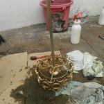 cuci lampu kristal ibu rika oleh Jasa Cuci Lampu Kristal gbr-10