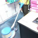 cuci karpet kantor PT Aica Indonesia-12
