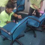 cuci kursi kantor pt myriad gambar 01